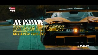 Joe Osborne – McLaren 720S GT3 – Build up to the Total 24 Hours of Spa