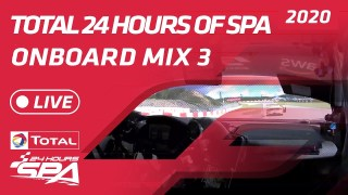 LIVE – ONBOARD MIX 3 – TOTAL 24 HOURS SPA 2020