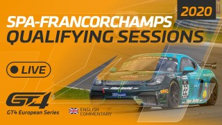QUALIFYING – GT4 EUROPEAN SERIES – SPA 2020 – ENGLISH