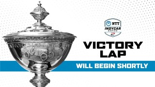 The 2020 NTT INDYCAR SERIES Victory Lap Celebration