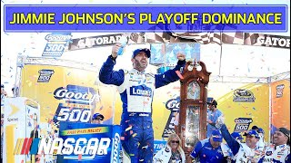 Relive Jimmie Johnson's career playoff wins | Best of NASCAR