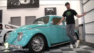 NASCAR Garage Tour: Kurt Busch talks historic car collection