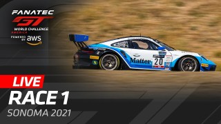 SONOMA – RACE 1 – GT WORLD CHALLENGE AMERICA 2021