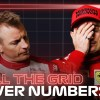 Grill The Grid 2021: Driver Numbers
