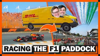 How Fast Does F1 Travel Between Back-To-Back Races?