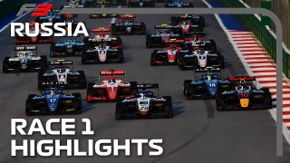 New Champion Crowned?! F3 Race 1 Highlights | 2021 Russian Grand Prix