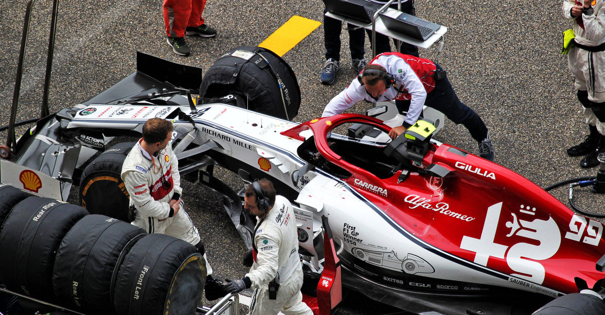 Formula 1, Giovinazzi: dieci posizioni di penalità