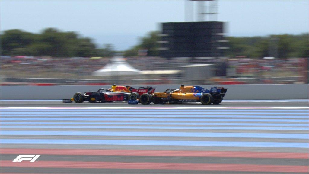 lotta sainz verstappen f1 gara francia
