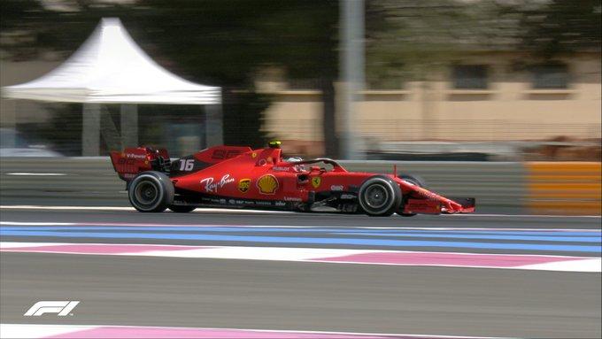 f1 notizie ferrari - Leclerc anima il GP di Francia