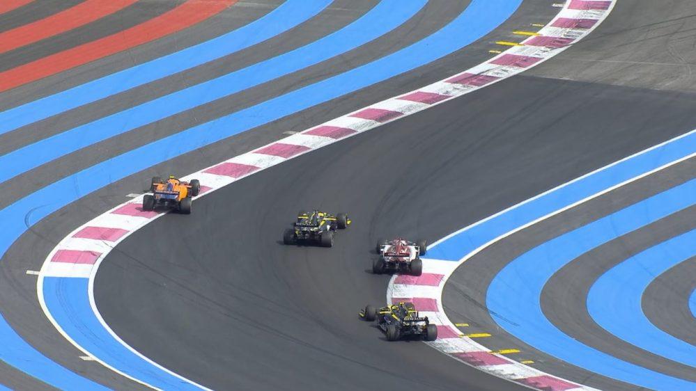 f1, l'ennesima penalità al gp di francia