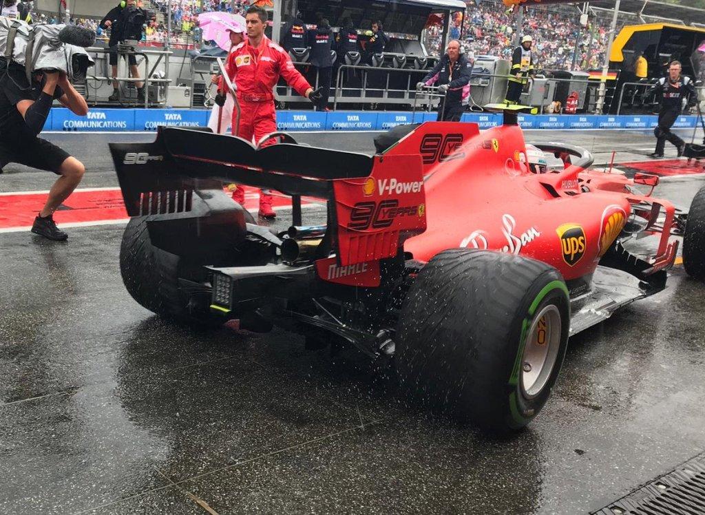 F1 Diretta Gara GP Germania - Ferrari