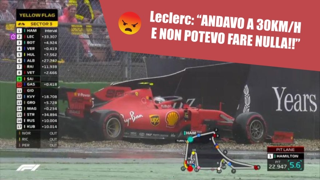 F1 Notizie - Team Radio Leclerc GP Germania