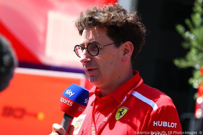 F1 GP Ungheria in Diretta - Binotto Ferrari