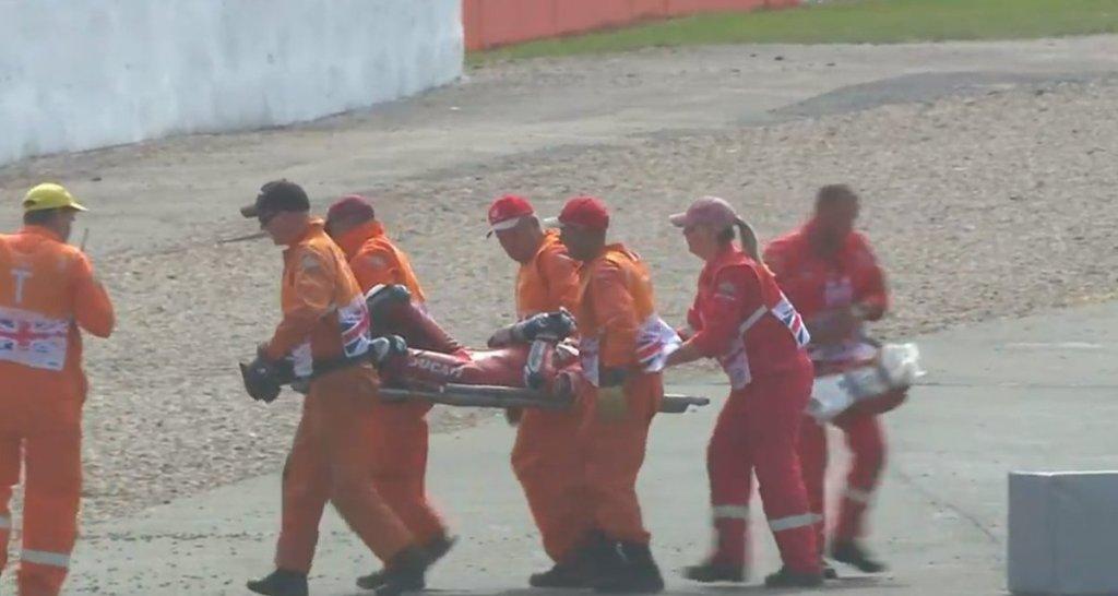 MotoGP Silverstone - Incidente Dovizioso