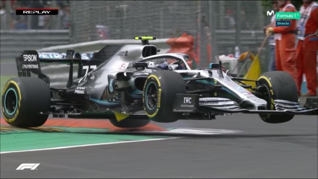 F1 Diretta - Prove Libere 3 FP3 - GP Italia a Monza - La Mercedes Vola
