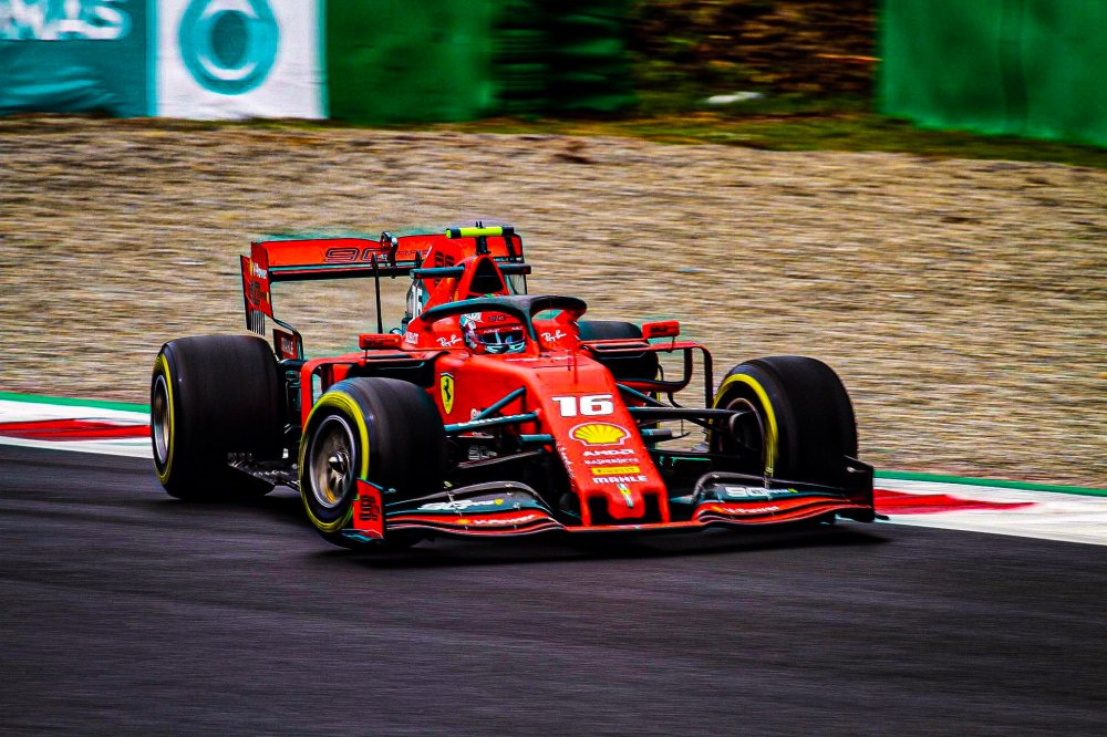 F1 Diretta - Prove Libere 3 FP3 GP Italia a Monza - Leclerc