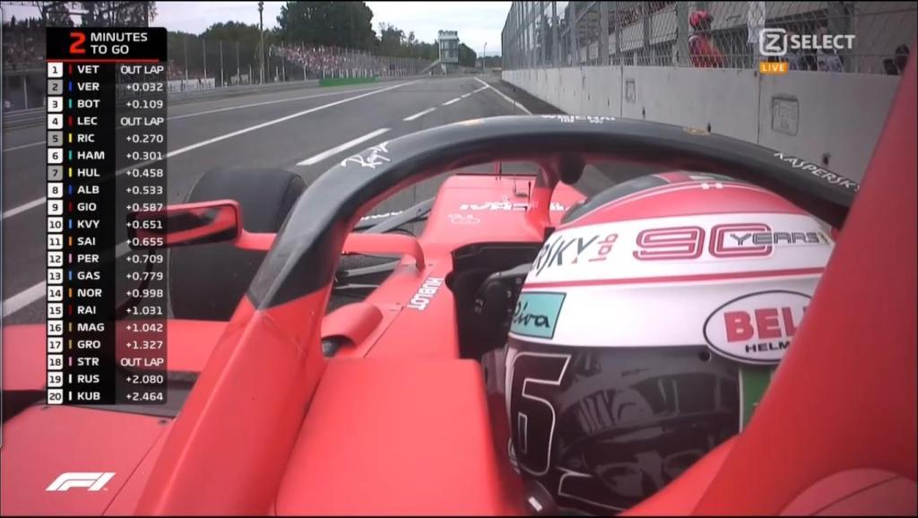 F1 Diretta - Prove Libere 3 FP3 - GP Italia a Monza - Prove di Partenza