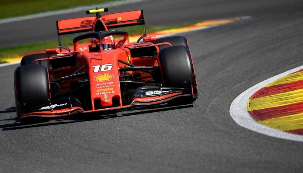 F1 - GP Belgio - Griglia di Partenza, Leclerc e Ferrari in Pole Position