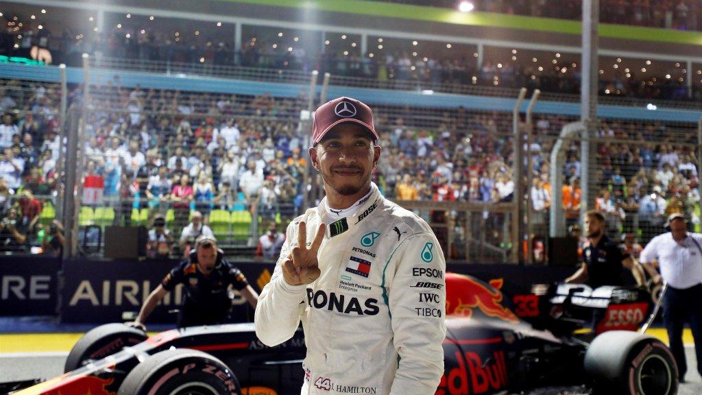 F1 GP Singapore - Diretta Qualifiche - Mercedes Hamilton 2