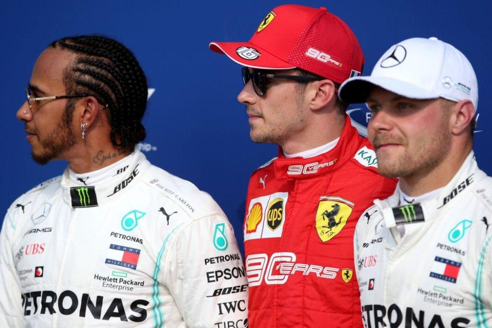 F1 Monza - Griglia di Partenza di oggi