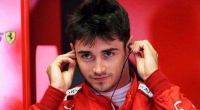 F1 Notizie - Charles Leclerc, Ferrari, fa attenzione alle Mercedes