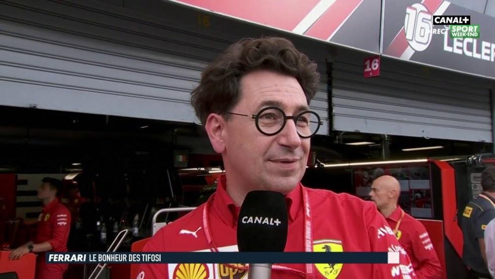 F1 Notizie Monza - Binotto commenta la vittoria di Leclerc