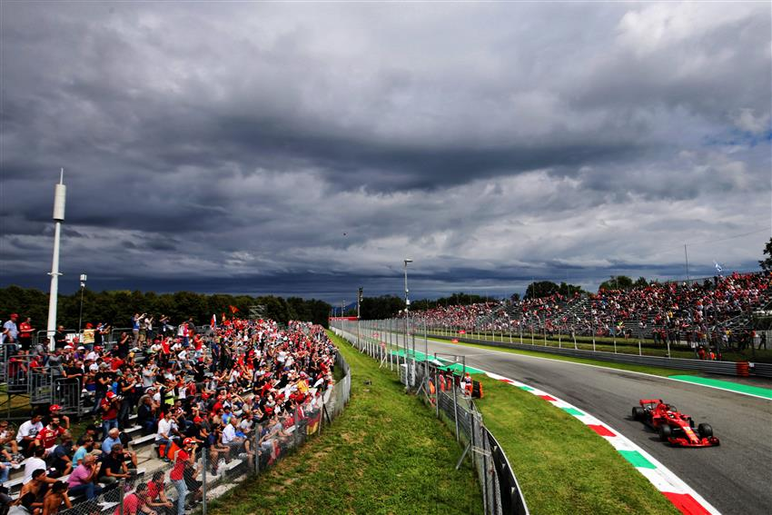 F1 Aggiornamenti Meteo in Diretta da Monza, probabilità di pioggia per il weekend