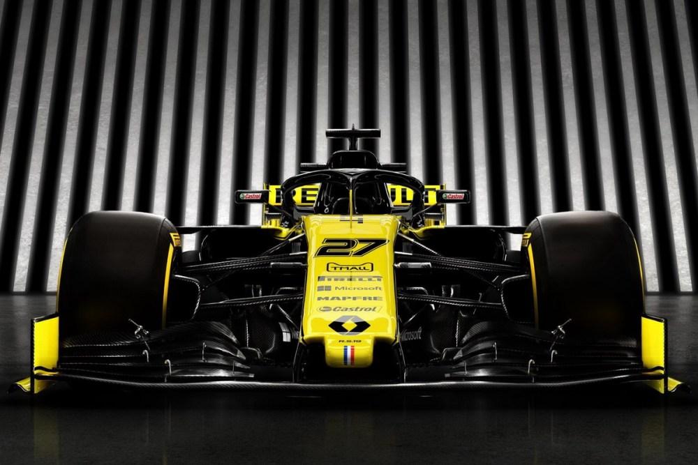 Renault propone motori elettrici per la f1 dal 2024