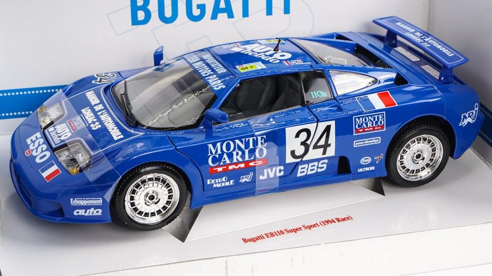 Modellino Bugatti EB110 Super Sport 1994