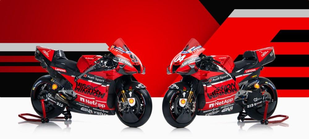 nuova ducati desmosedici motogp 2020