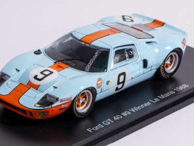 modellino ford gt40 le mans 1968
