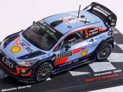 modellino Neuville hyundai WRC