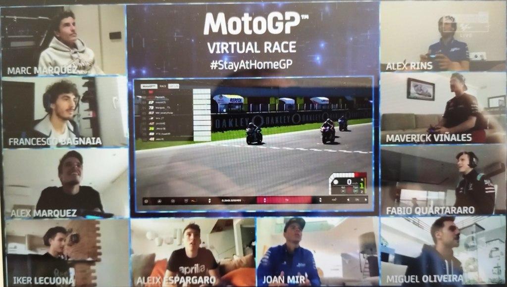 MotoGP vittoria virtuale Marquez