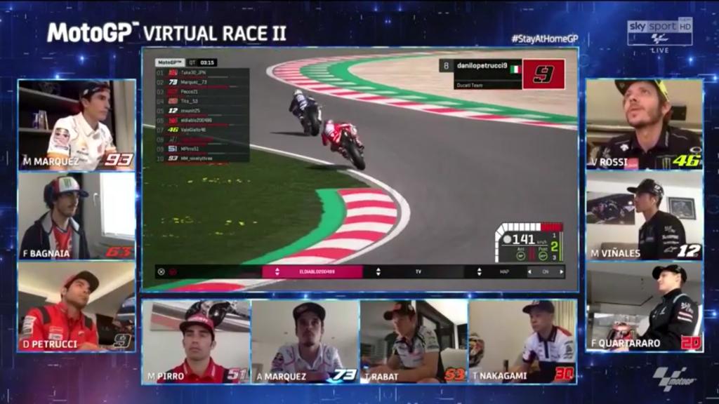 MotoGP – GP Virtual Race II - Red Bul Ring La Vittoria Virtuale Va a Pecco Bagnaia!