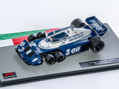 modellino f1 tyrrell 6 ruote p34
