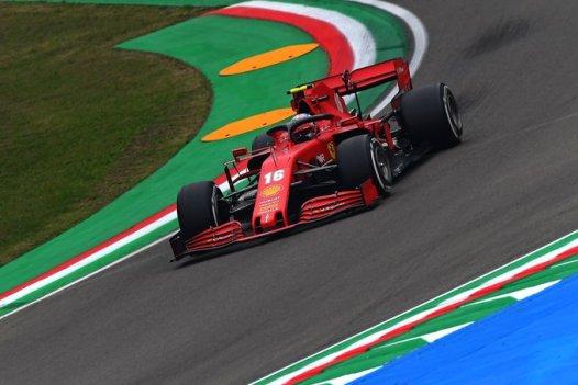 F1 Ferrari, Imola: interviste Leclerc e Vettel nel post-gara