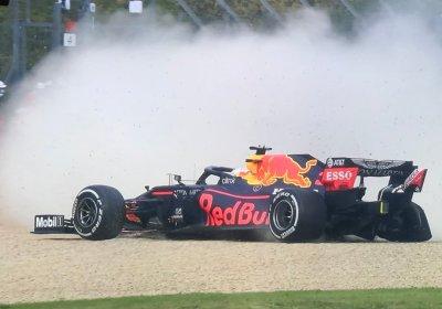 F1 VIDEO Imola, incidente per Verstappen
