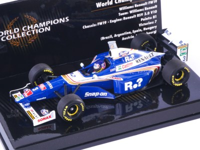 modellino f1 williams 1997 villeneuve minichamps