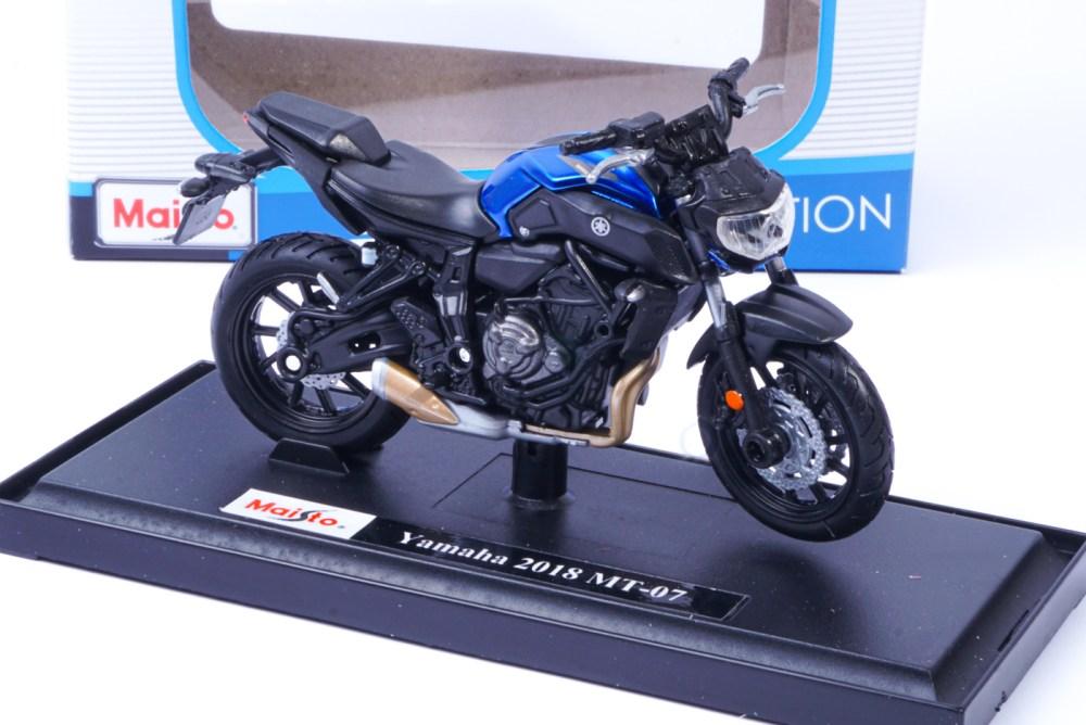 modellino moto yamaha mt07