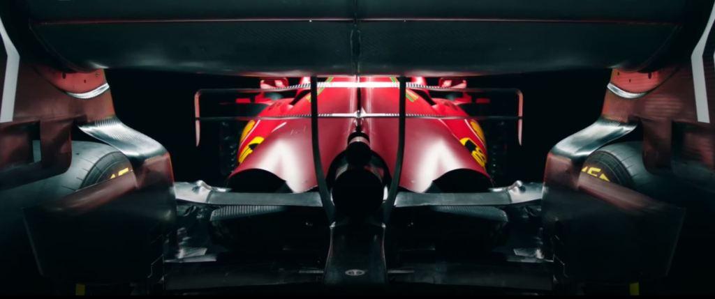 ferrari f1 2021 foto posteriore dettagli