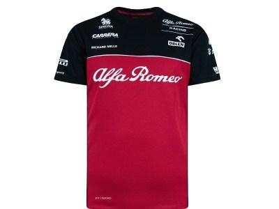t-shirt maglietta alfa romeo f1 2020