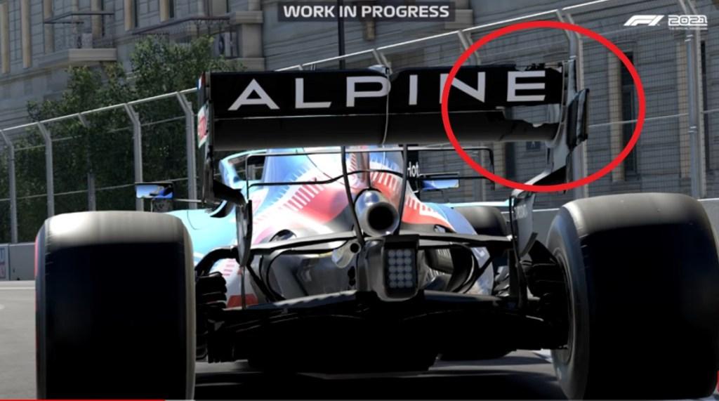 f1 2021 gameplay danni ala posteriore