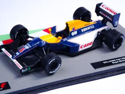 modellino f1 williams 1992 mansell scala 1:43