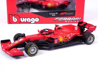 modellino ferrari f1 sf1000 rossa classico leclerc scala 1:43 burago