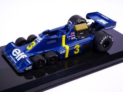 modellino f1 tyrrell 6 ruote p34 scala 1:24 edicola