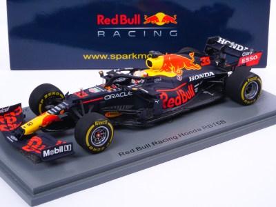 modellino f1 max verstappen red bull rb16b 2021 scala 1:43 spark