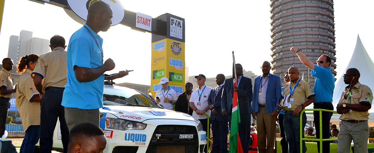 Stage 1 Results: 65th Safari Rally Progressive Overall After CS 1 (2 Km)