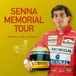Senna Memorial Tour en Ferrari
