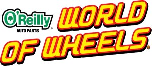 O'Reilly Auto Parts World of Wheels logo