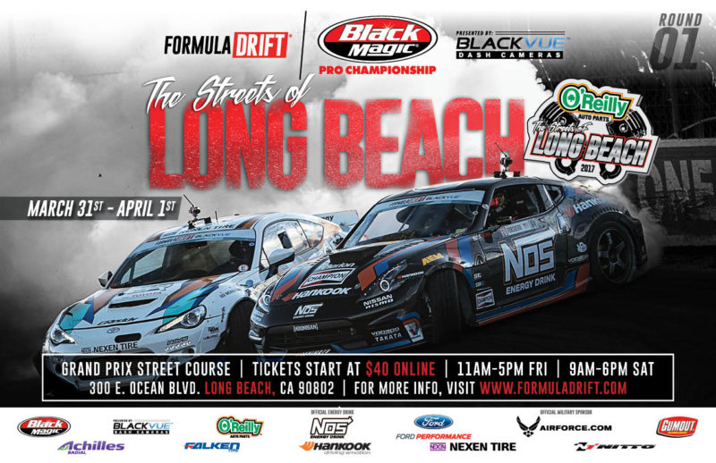 Streets of Long Beach event flyer